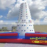 Air rock mountain inflatable rock climbing wall for kids & adults