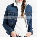 Cold Winter Clothing Women Fashion Denim Jacket Lady Thicken Coat