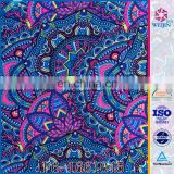 Knit Fashion Warp Tear Proof Different Type Of Fabric Print