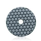 80mm 100mm dry&wet polishing pad high quality stone grinding