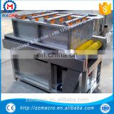 commercial stainless steel green vegetable washing machine for sale