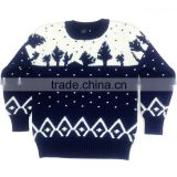 Custom knit Kids jumper for sale Unisex christmas sweater pullover