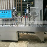Cup sealing and filling machine