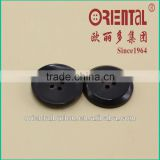 high end real black horn button for suit