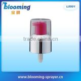 Cream pump treatment 20/410 aluminium pump for tube