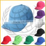 100% cotton embroidered promotional baseball cap