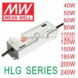 HLG40W 60W 80W 100W 120W 150W 180W meanwell 36V voltage waterproof electronic constant led driver Led switching power supply                                                                         Quality Choice