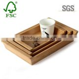 Wholesale Customize Export Quality SGS Antique Bamboo Serving Tray