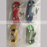 Factory in stock wooden skateboard deck truck and wheels complete finger skateboard truck with bearing wheels
