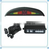 New LED Car Parking Sensor with 4 Sensors Radar detector LED parking sensor