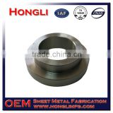 custom 304 stainless steel threaded connection flange sheet metal fabrication