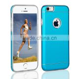 Aluminum protective ultra slim heavy duty armor back case for iphone 6