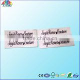 customized printed label ,clothing printed label, high quantity print label
