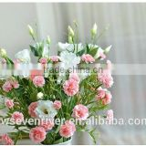 The simulation colored carnation flower flower Domestic act the role ofing desktop silk flowers fake flowers sitting room adornm