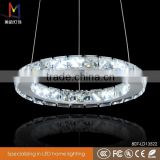 K9 Crystal ring pendant light fixture led lamp 5w SMD with CE ROHS for home wedding decoration