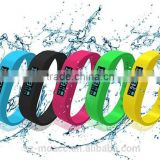 hot sale Silicone waterproof bluetooth smart bracelet, super fashionable