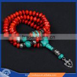 10mm Tibetan Buddhism 108 jequirity Bodhi Seeds Buddha Mala Necklace 108