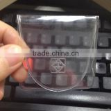 Plastic transparent packing , Coin Envelope made of clear PP/PVC/PET