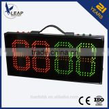 TF5202 electronic LED /portable soccer substitution board/portable electronic display board