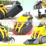 mini digger with standard bucket,USA engine,CE Hydraulic transmission system,quick hitch,mini chargeur