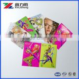 High quality display, RGB effect printing showcard, counter product instruction card stand