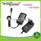 super quality Laptop power adapter 12v 1a1.5a 15v 1.2a 9v 2a 5v 1a2a power adapter with cable