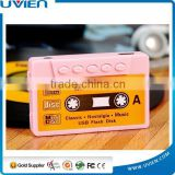 Tape Shaped Mini Clip MP3 Player with Card Reader