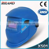 Riland safety helmet welding mask TIG/MIG/ARC Auto-Darkening ultrasonic plastic welding helmet