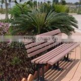 low maintenance manufacturing cheap wpc garden bench china