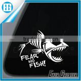 Fly Fishing Decal Sticker car window Whip Strip Tie Fly Me Lake Hook Boat Boots