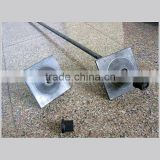 post tension anchor plate for concrete construction