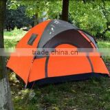Round rainfly one door double layer 3 person outdoor camping family tent fish tent                                                                         Quality Choice