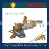 air compressor parts brass pressure control valve made in China