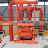 concrete drilling equipment slurry mud separation cyclone desander
