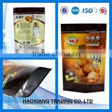 custom printed food grade eco-friendly packaging bag,dried food packaging stand up platic bag