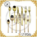 stainless steel cutlery gold, wedding favours, gold cutlery set                                                                         Quality Choice
