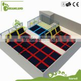 2014 new style kids indoor trampoline with handlebar