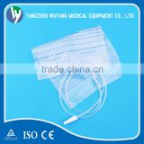 Hot-sale CE, ISO Proved 2000ml Urine bag with Non-return ,T valve