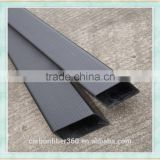 High temperature resistance 3k twill weave carbon fiber rectangular tube, carbon fiber square tube