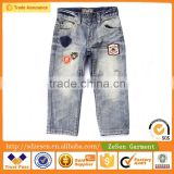 China Wholesale Distressed Cotton Jeans Children Manufacturer Shorts For Boy