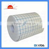 Non-woven adhesive wound dressing fixation tape bandage