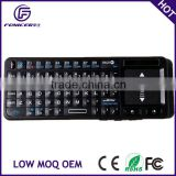 Bluetooth mini wireless multifuction Keyboard with Touchpad, Laser pen for tablet pc/pad/phone