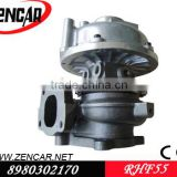 4HK1 turbocharger for Isuzu Industrial Fan Motor turbocharegr RHF55