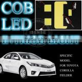 New Auto Parts 12V Hig Power Cool White 8000K LEd Interior Kit Used for Toyota Corolla Parts