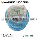 Pedometer powered by electronic motion sensor,Digital clock with 3 Dimension Step Counter,Pedometer for measuring calories