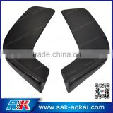 HOT!! Carbon Fiber Car Front Bumper Lip Spoiler Front Splitter(pair), Front Lip Spoiler