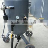 Movable pressurized sand blasting equipment
