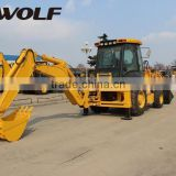 CAT technology!!! WOLF high quality integral type backhoe loader JX45 for sale