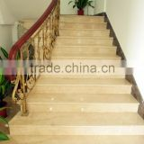 Quality assured crazy selling floating marble granite stair