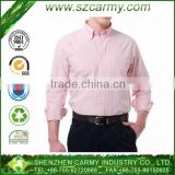 100%cotton men's formal shirt, pink business man shirt 2013, cheap mens business shirts